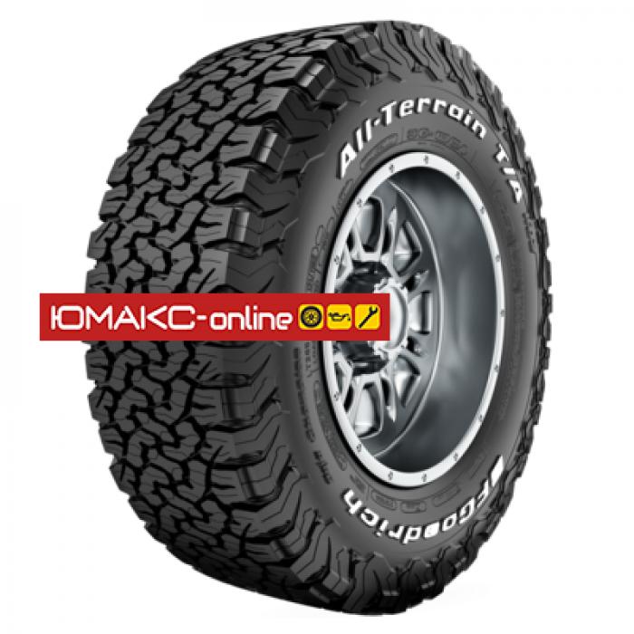 Всесезонная легковая шина BFGoodrich All Terrain T/A KO2 32x11,5R15 113R LRC All Terrain T/A KO2 RWL