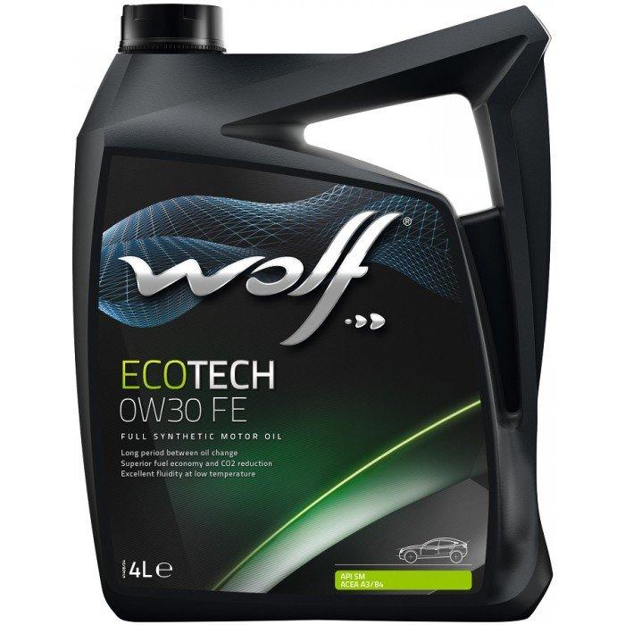 Моторное масло Wolf ECOTECH 0W30 FE 4л