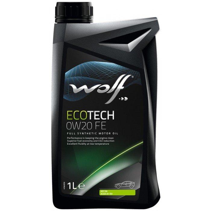 WOLF Масло мот. ECOTECH 0W20 FE 1л/12